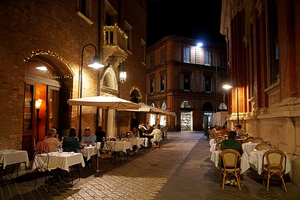 Restaurants in Ravenna