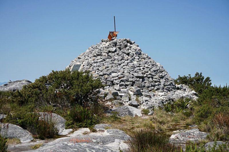 Maclears Beacon ist der hoechste Punkt des Tafelbergs