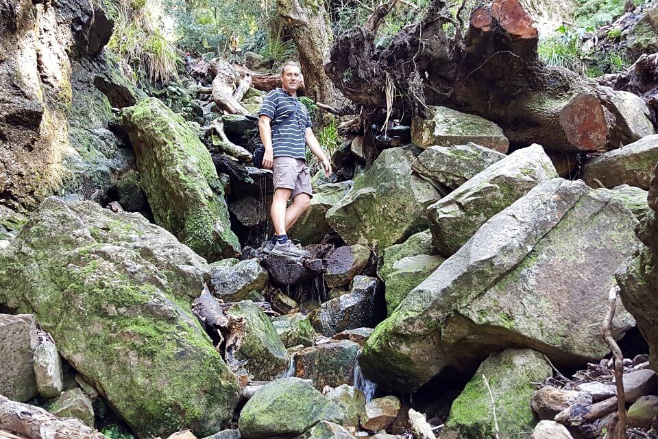 Wanderung auf den Tafelberg durch die Skeleton Gorge
