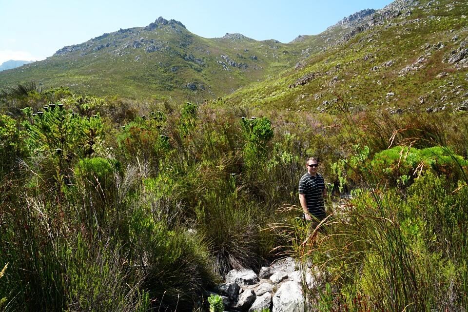 Marco auf dem Palmiet River Trail