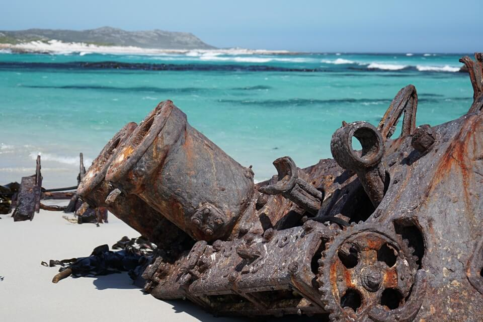 Schiffswrack Nolloth am Kap der Guten Hoffnung