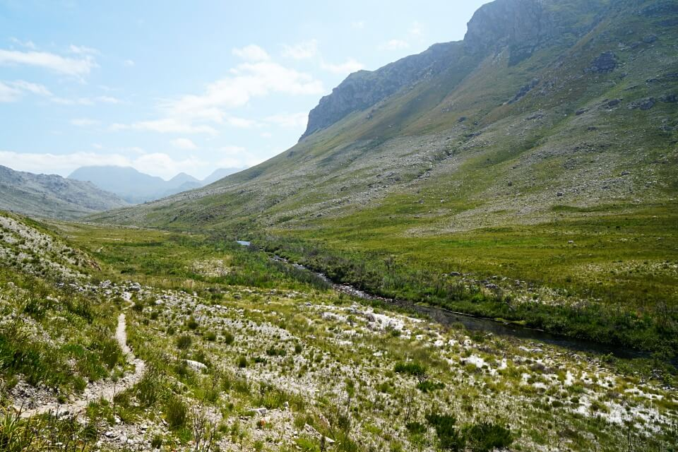 Der Palmiet River Trail im Kogelberg Nature Reserve Overberg Suedafrika