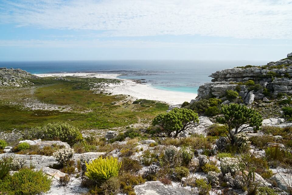 Blick aufs Meer auf dem Olifantsbos Shipwreck Trail