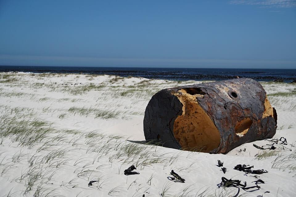 Schiffswracks am Kap der Guten Hoffnung