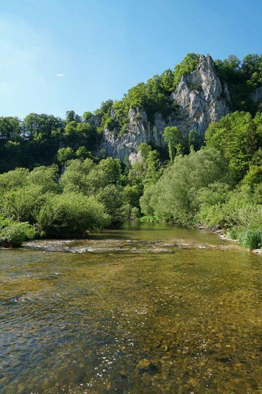 Die Donau auf der DonauWellen Donaufelsentour
