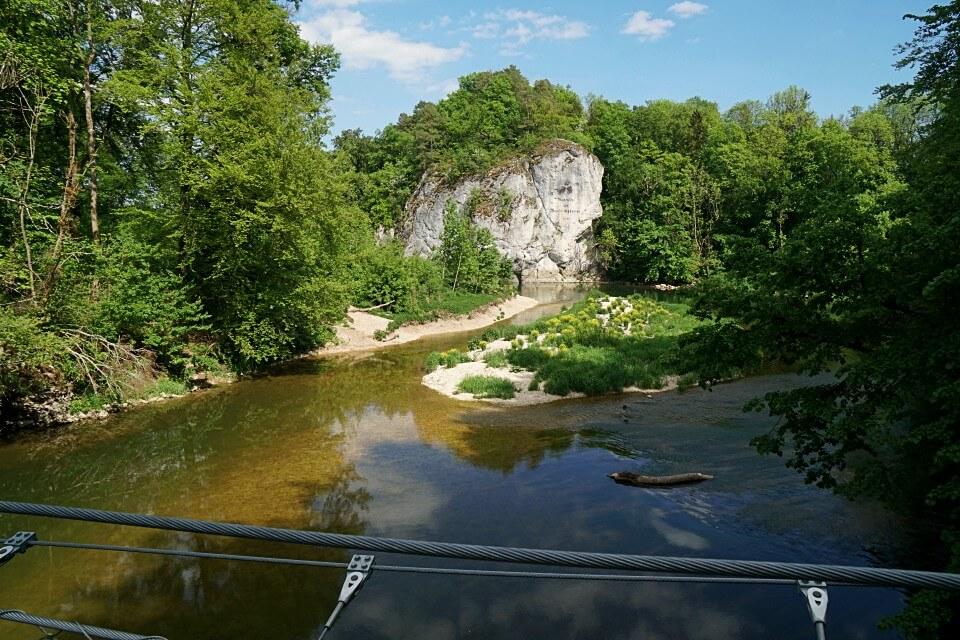 Amalienfelsen in Inzigkofen an der Donau
