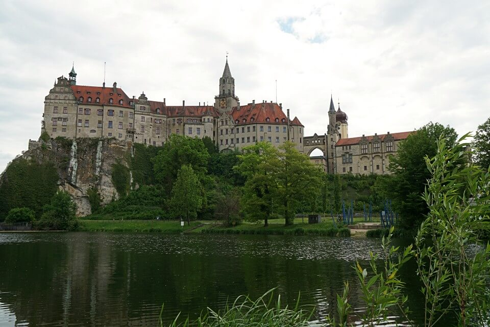 Schloss Sigmaringen im Donautal
