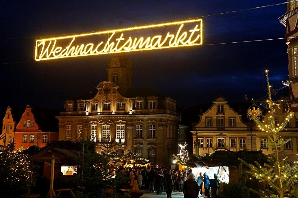 Weihnachtsmarkt Schwaebisch Hall