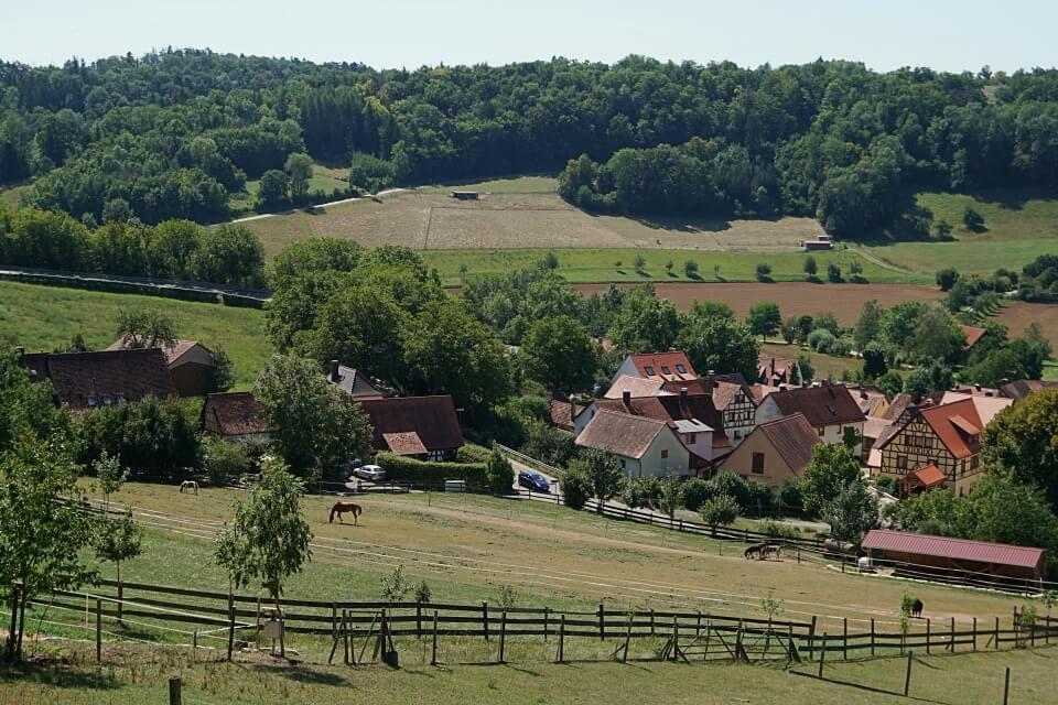Ausblicke vom Panoramaweg Taubertal
