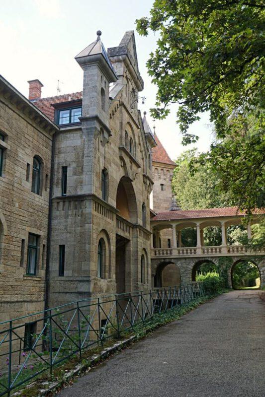 Wildbad Park Rothenburg ob der Tauber