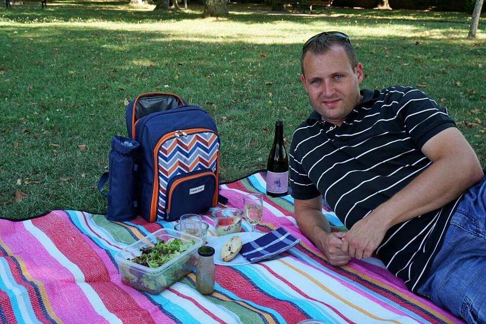 Picknick im Rothenburger Burggarten