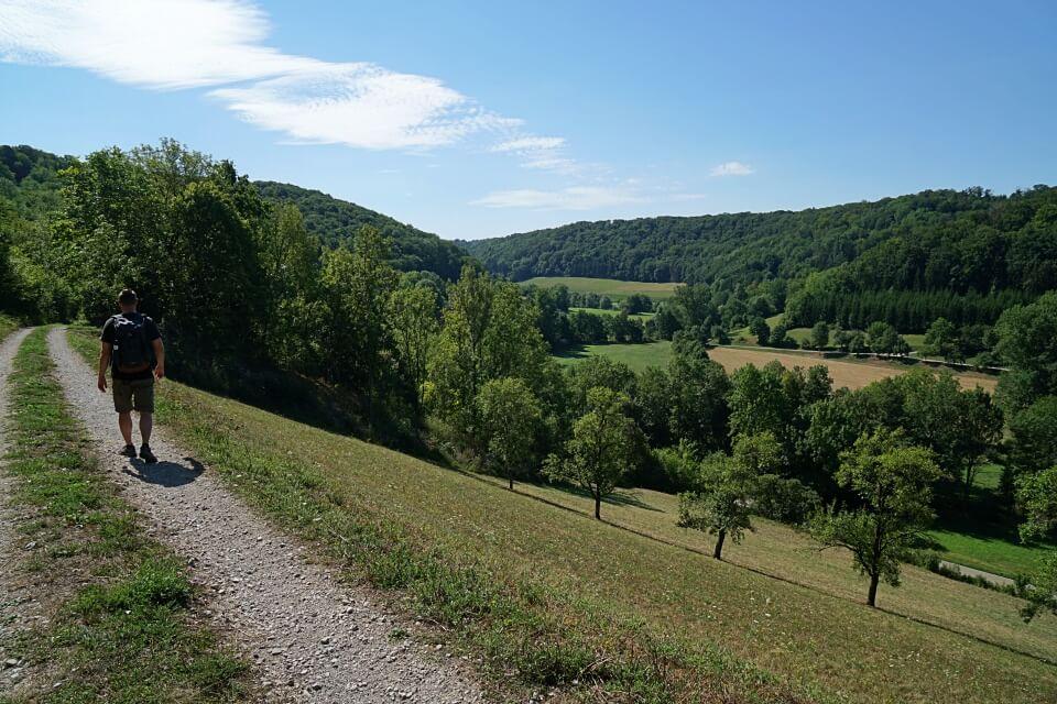 Panoramaweg Taubertal bei Rothenburg