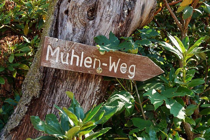 Wandern auf dem Muehlenweg Ottenhoefen im Schwarzwald