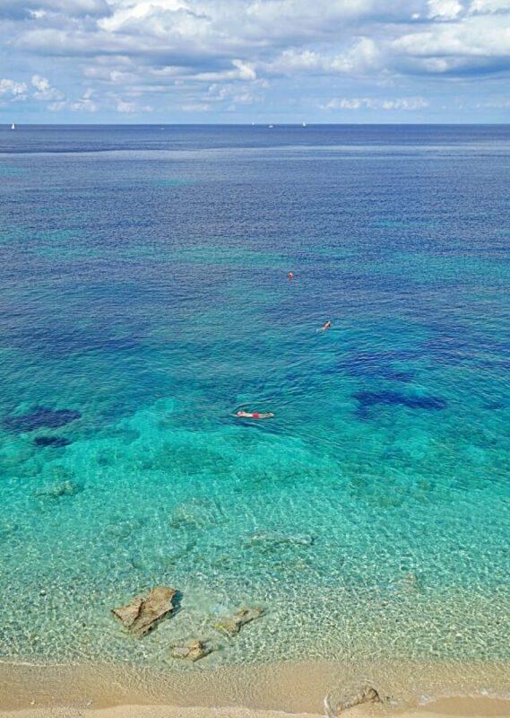 Sansone Strand auf Elba