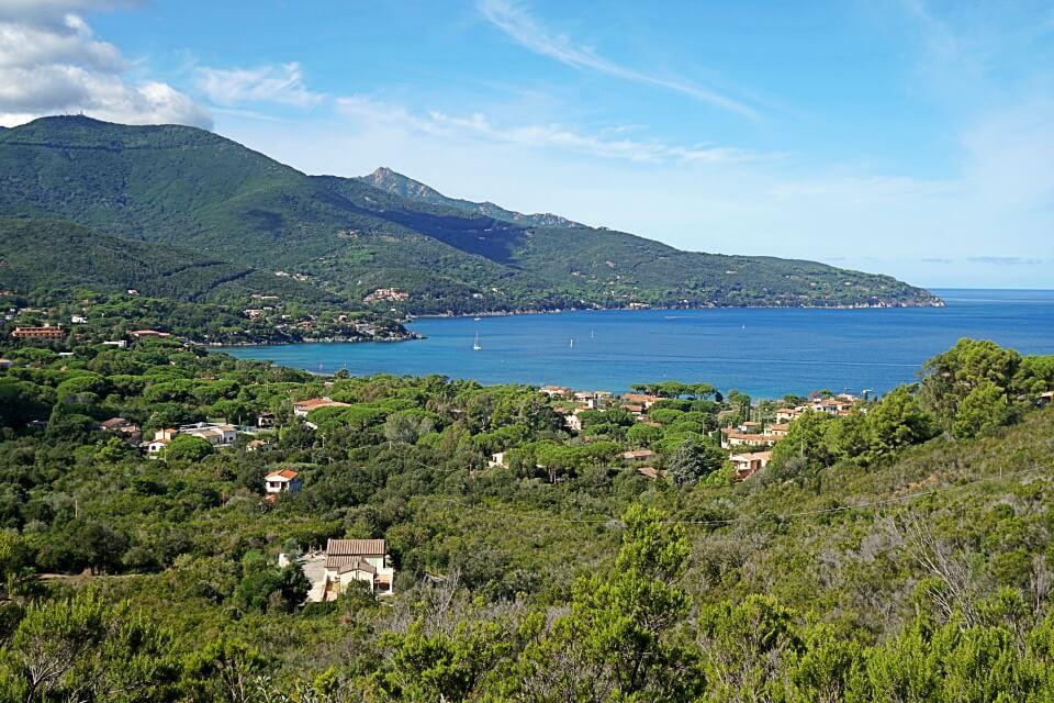 Ausblicke auf Elbas Nordkueste