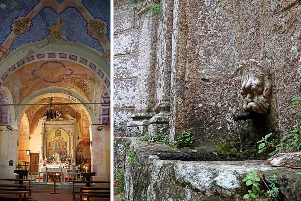 Die Wallfahrtskirche Madonna del Monte auf Elba