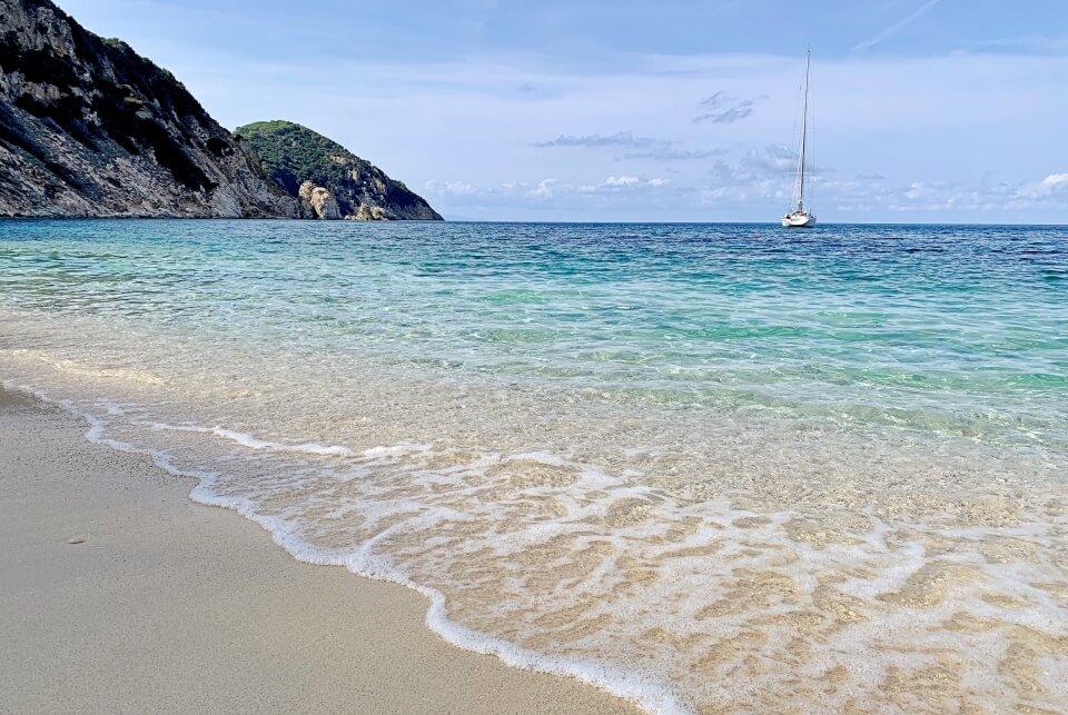 La Spiaggia di Sansone an der Nordküste von Elba