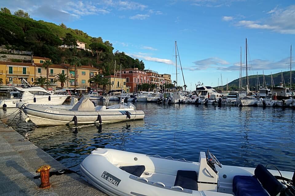 Porto Azzurro auf Elba haben wir bei unserer Rundreise mit dem Wohnmobil erkundet