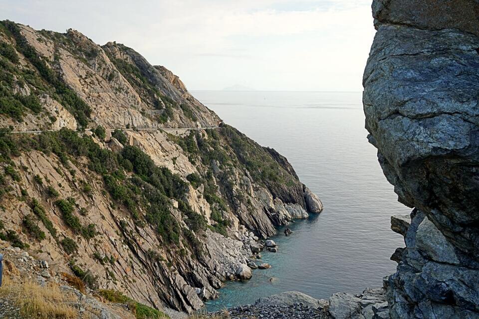 Aussichtspunkt Punta Nera Westkueste Elba
