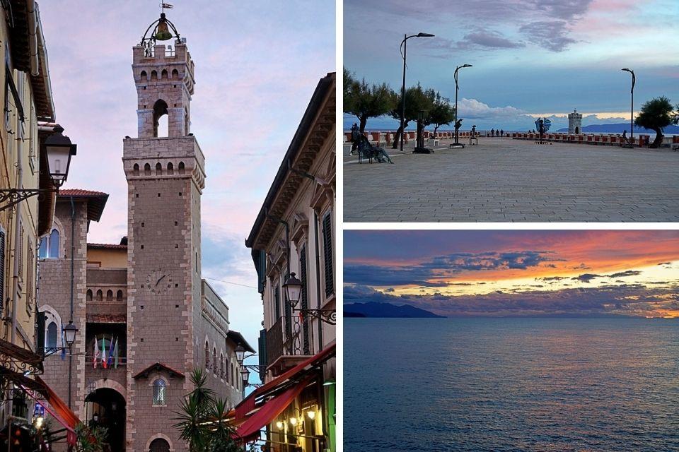 Piombino an der Etruskischen Riviera in der Toskana