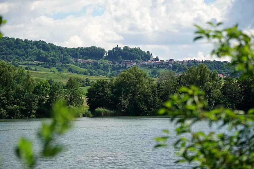 Der Breitenauer See ist ein beliebtes Ausflugsziel in Baden Wurttemberg
