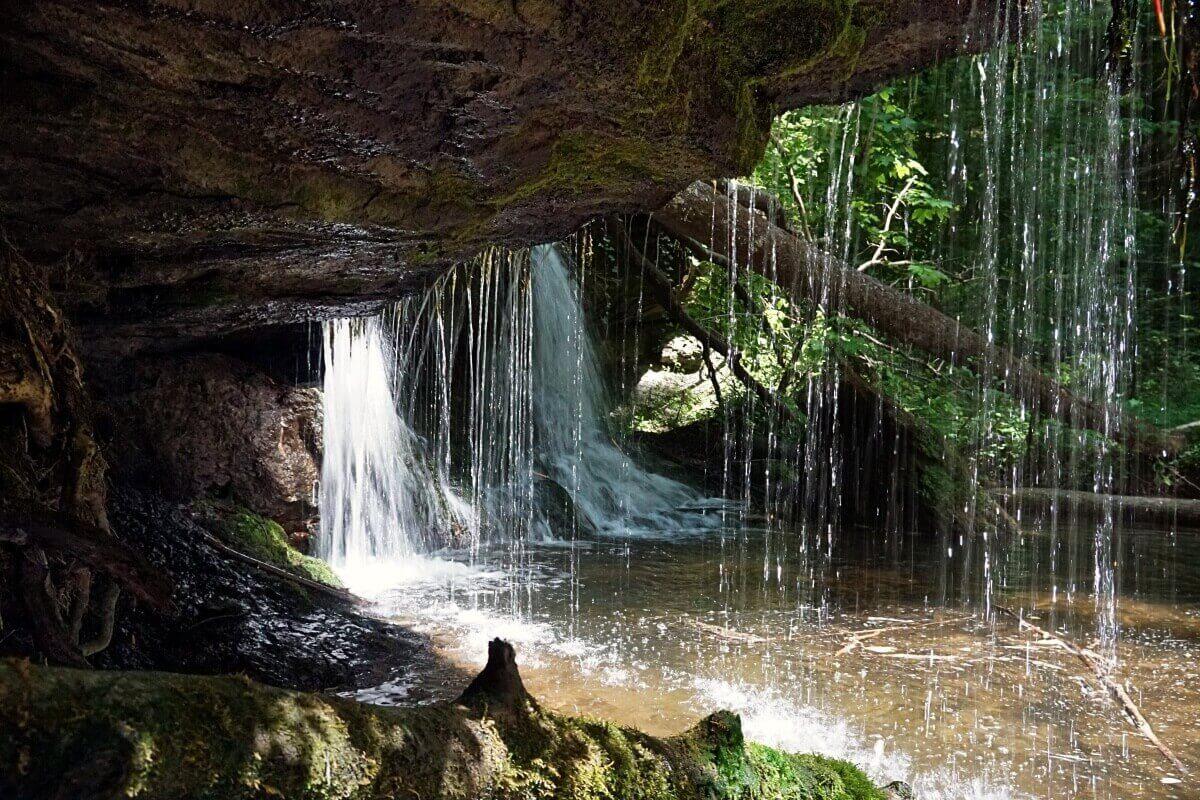 Das Struempfelbachtal im Schwaebischen Wald ist ein tolles Ausflugsziel in Baden Wuerttemberg